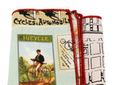 Cycling Panelled Pocket Square - Fine and Dandy