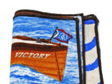 Boating Panelled Pocket Square - Fine and Dandy