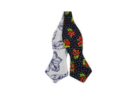 Floral Reversible Bow Tie - Fine and Dandy