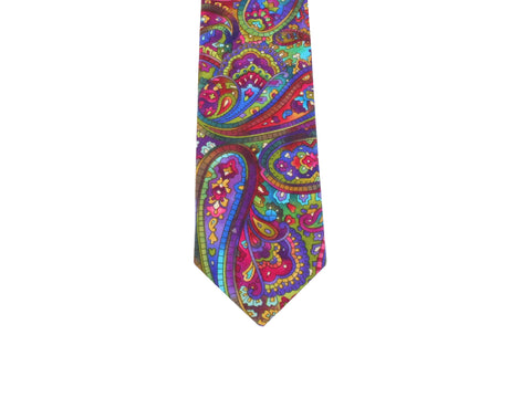 Psycheledelic Paisley Tie - Fine and Dandy