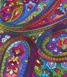 Psychedelic Paisley Cotton Tie