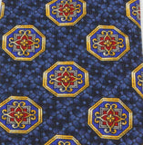 Blue Medallion Silk Tie
