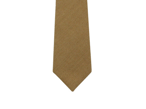Tan Wool Tie - Fine and Dandy