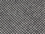 Black Houndstooth Wool Tie