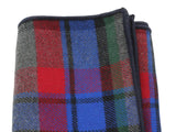 Vivid Tartan Flannel Pocket Square - Fine and Dandy