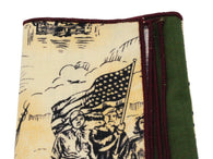 Patriotic Panelled Pocket Square - Fine and Dandy