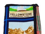 US National Parks Panelled Pocket Square - Fine and Dandy