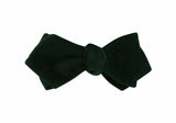 Dark Green Velvet Bow Tie - Fine And Dandy