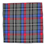 Vivid Tartan Flannel Pocket Square