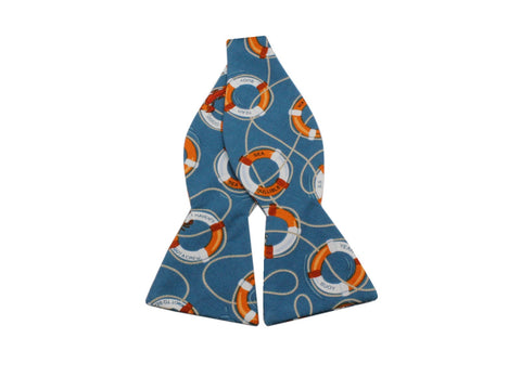 Life Rings Cotton Bow Tie - Fine And Dandy