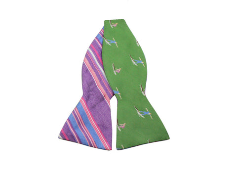 Surfer Reversible Bow Tie - Fine And Dandy