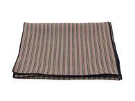 Multi Striped Silk/Linen Blend Scarf - Fine And Dandy