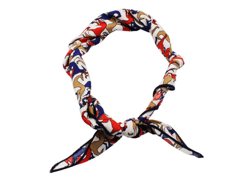 Greyhounds Cotton Neckerchief - Fine And Dandy