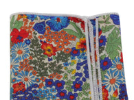 Vibrant Floral Cotton Pocket Square - Fine And Dandy
