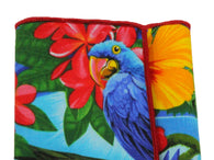 Tropical Cotton Pocket Square - Fine And Dandy