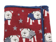 Bulldogs Cotton Pocket Square - Fine And Dandy