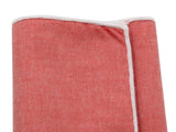 Red Chambray Cotton Pocket Square - Fine And Dandy