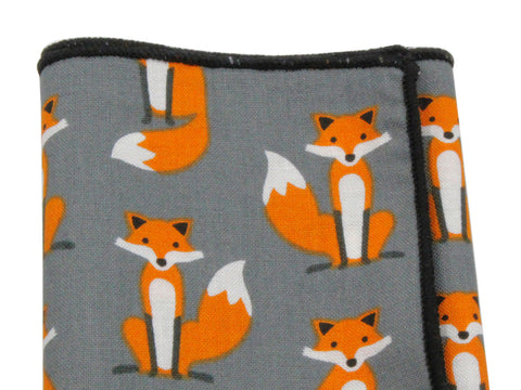 Foxes Cotton Pocket Square - Fine And Dandy