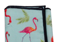 Flamingos Cotton Pocket Square - Fine And Dandy