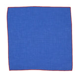 Vibrant Chambray Pocket Square - Fine And Dandy