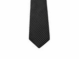 Black Polka Dot Silk Tie - Fine And Dandy