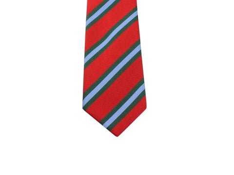 Red Striped Silk Tie - Fine And Dandy