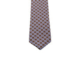 Brown Links Silk Tie - Fine And Dandy