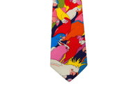 Parrots Cotton Tie - Fine And Dandy