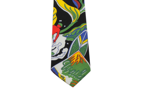 Surfer Dudes Cotton Tie