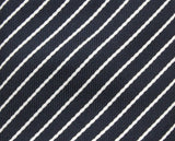 Black Striped Silk Tie - Fine And Dandy