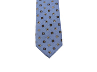 Blue Florette Wool Tie - Fine and Dandy