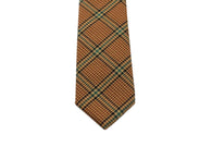 Tan Glen Plaid Wool Tie - Fine And Dandy