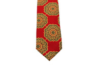 Red Moorish Silk Tie - Fine And Dandy