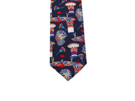 Ancient Egyptian Silk Tie - Fine And Dandy
