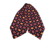 Geometric Silk Ascot - Fine And Dandy