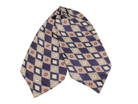 Harlequin Florette Silk Ascot - Fine And Dandy
