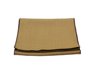 Tan Herringbone Wool Scarf - Fine And Dandy