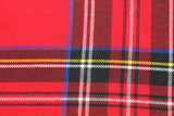 Red Tartan Wool Scarf - Fine And Dandy
