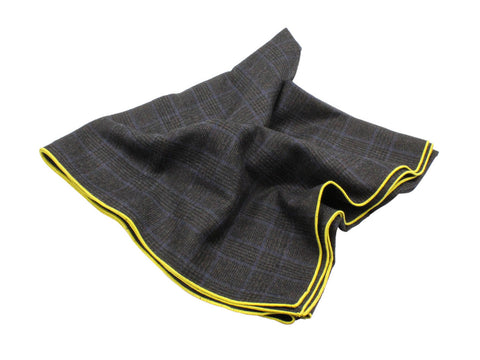 Glen Plaid Wool Blanket Scarf