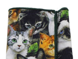 Cats Cotton Pocket Square - Fine and Dandy
