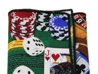 Casino Cotton Pocket Square - Fine And Dandy