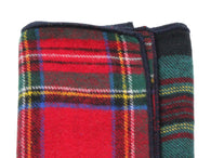 Tartan Panelled Pocket Square - Fine And Dandy