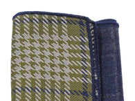 Green Check Panelled Pocket Square - Fine And Dandy