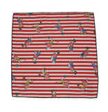 Gone Fishing Cotton Pocket Square - Fine and Dandy