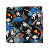 Outer Space Cotton Pocket Square - Fine and Dandy