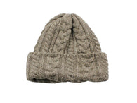 Sand Cable Knit Watch Cap - Fine And Dandy