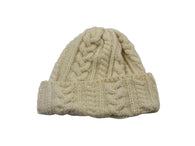 Natural Cable Knit Watch Cap - Fine And Dandy