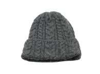 Charcoal Cable Knit Watch Cap - Fine And Dandy