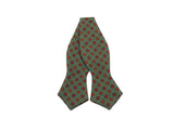 Green Florette Wool Bow Tie - Fine And Dandy