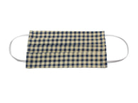 Navy Gingham Face Mask - Fine And Dandy